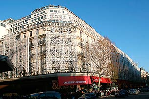 Paris, Mall Galeries Lafayette - Click for large image !