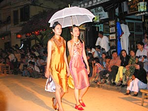 Hoi An, fashion show