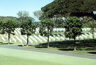 military cemetery of the Americans