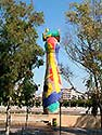 Barcelona, Miros Statue - Click for large image !
