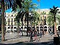 Barcelona, Placa Reial - Click for large image !