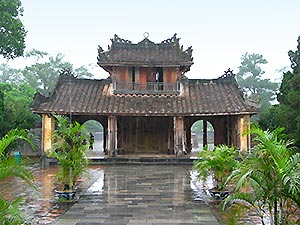 Hue, tomb of Minh Mang